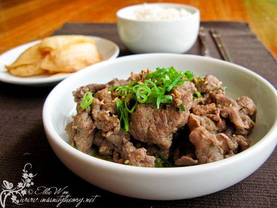 Bulgogi - traditional Korean bbq beef, our authentic home ...