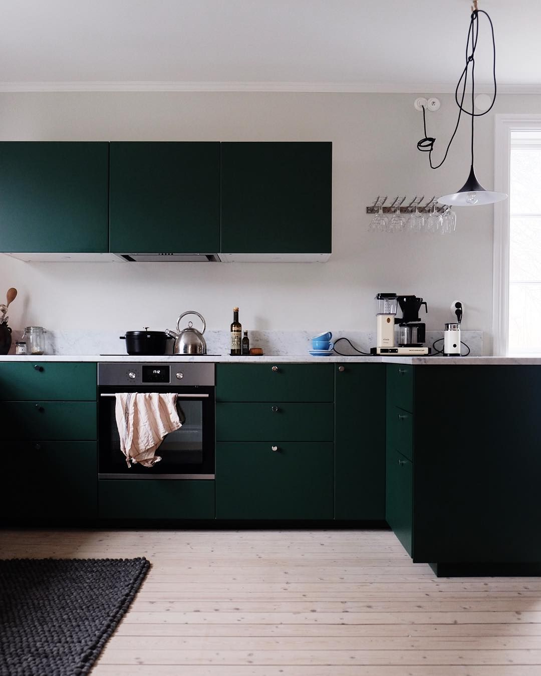 Dark green kitchen cabinets emma solveigsdotter home and life in