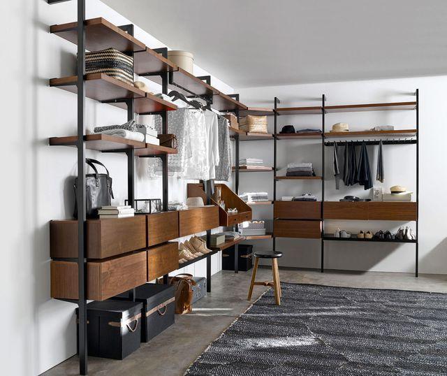 Dressing pas cher et tendance etagere pour chaussure barre de penderie et - Etagere metallique pas cher ...