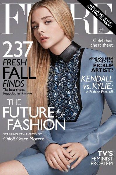 """Chloe Grace Moretz es la joven fashionista en la [PORTADA] de la revista """"Flare"""" de septiembre"""