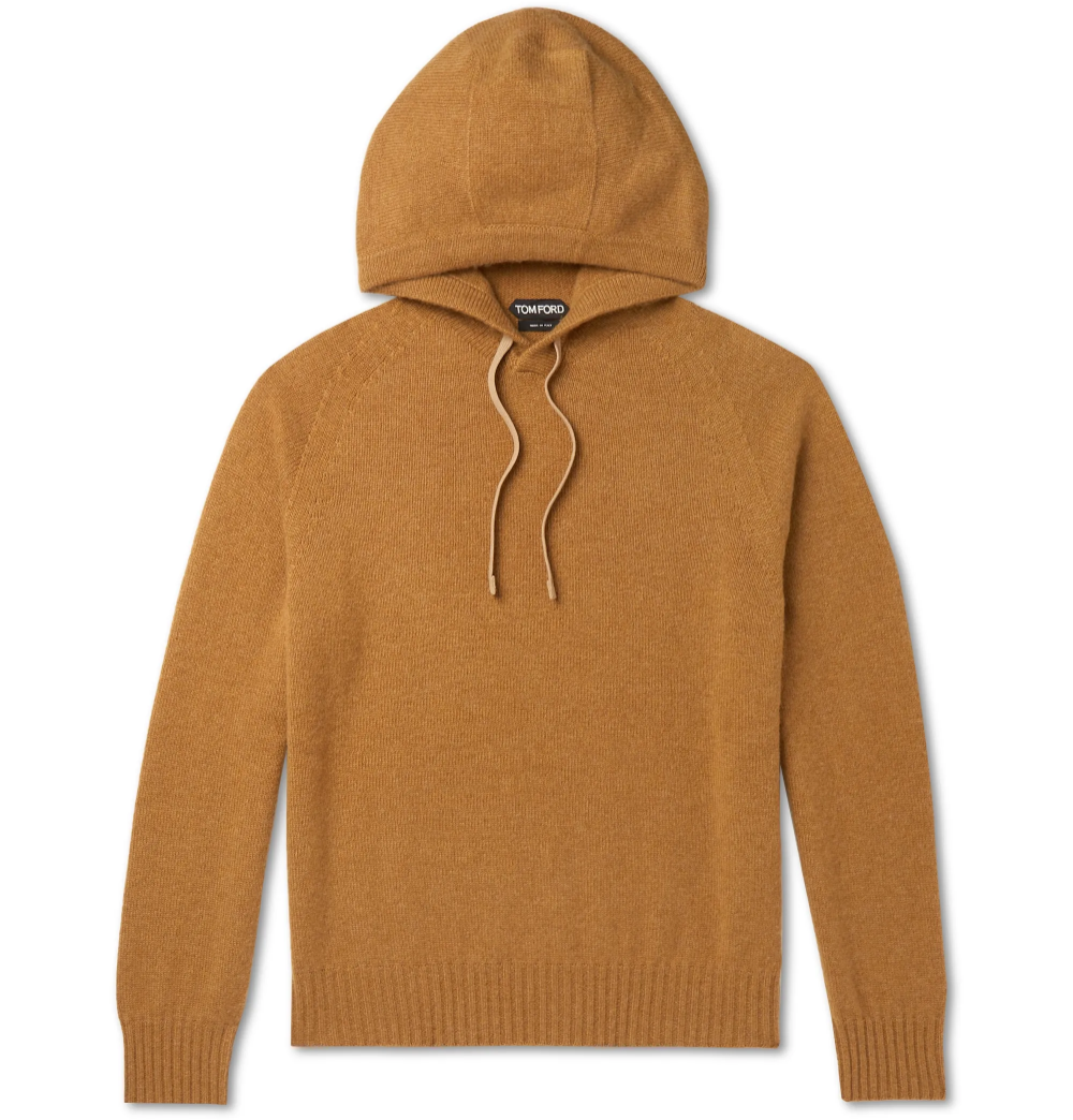 There Will Always Be A Time And A Place To Wear This Tom Ford Hoodie Designed To Fit Slim It S Been Expertly Knitted I Tom Ford Jeans Hoodies Cashmere Hoodie [ 1044 x 1000 Pixel ]
