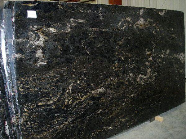 Black Cosmic Polished Granite Slabs Black Granite Slab Granite Slab Leather Granite