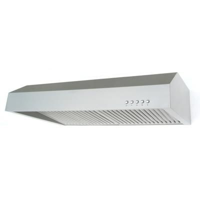 Vissani 30 Inch Stainless Steel Range Hood With Commercial Look Baffles Qr023 Home Depot Cana Stainless Steel Range Stainless Steel Range Hood Range Hood