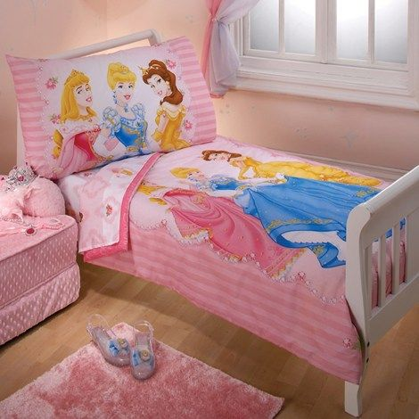 Princess Dreams 4pc Toddler Bedding Set Toddler Bed Set