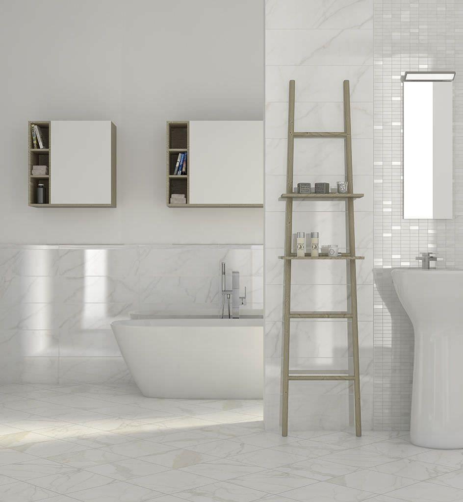 Bathroom Designs Whe Stone Tiles Bathroom Floor Tile Designs