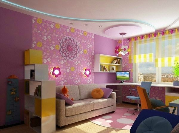 Kinderzimmer komplett gestalten - Junge und Mädchen teilen ein - babyzimmer fr jungs