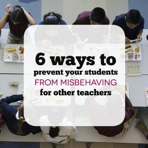 There are few things that annoyed me more as a teacher than picking up my students from P.E. or lunch only to discover that some students had been completely out of control while they were gone.  The good news is that while you can�t control what happens