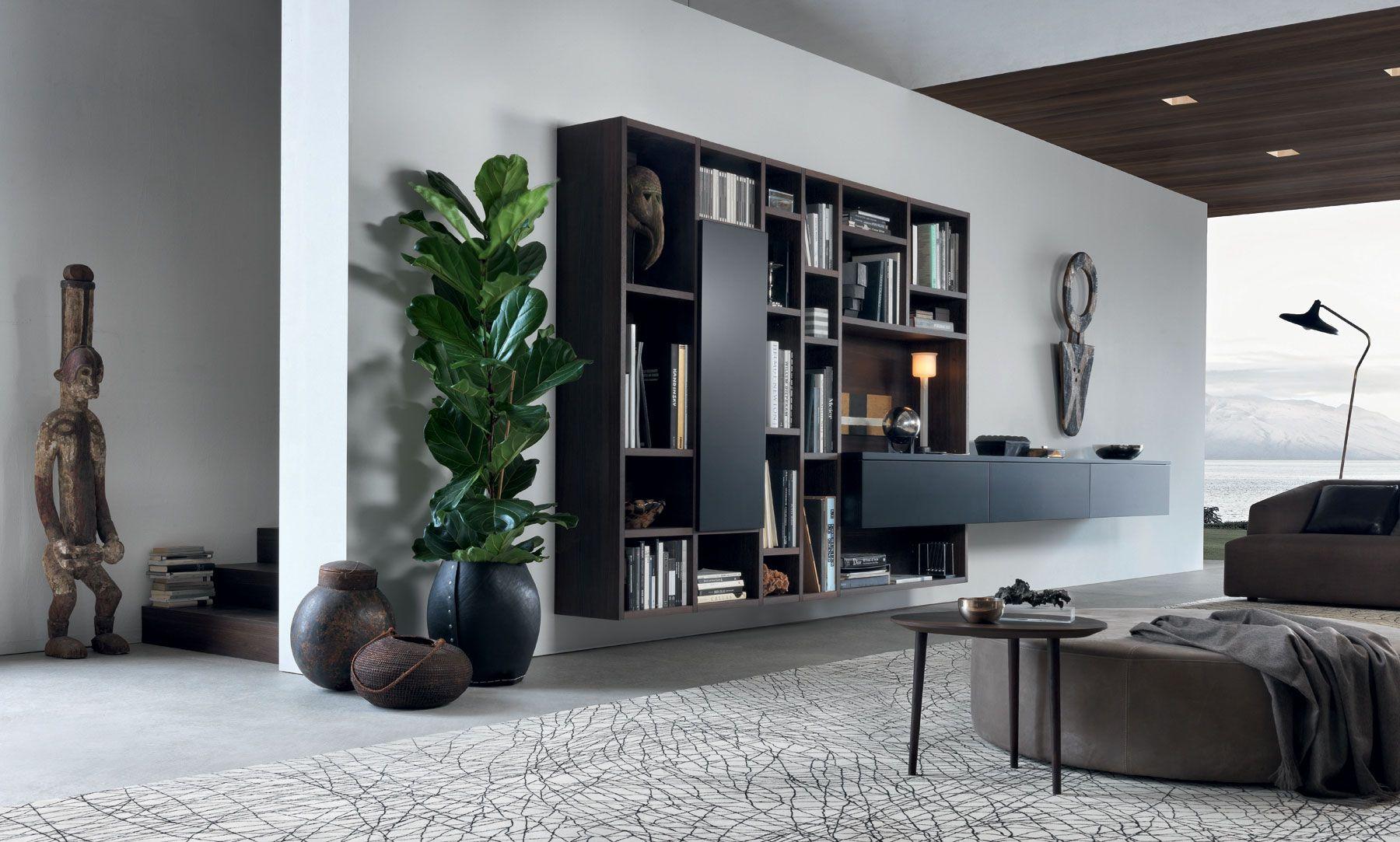 modern narrow ideas for shelving units hanging living shelves room unit wall livings decorative storage shelf