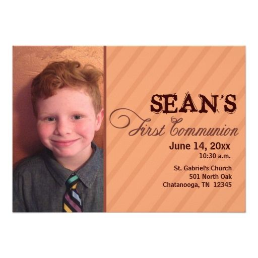 First Communion Save The Date Stuff Sold On Zazzle Pinterest