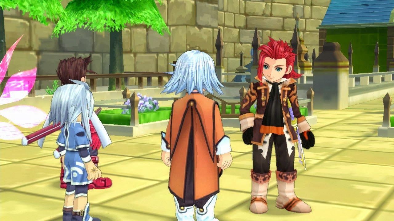 New REMASTERED Game Tales of Symphonia Chronicles Tales