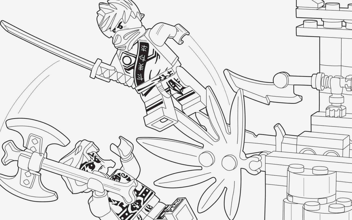 ausmalbilder ninjago titan zane  kostenlos zum ausdrucken