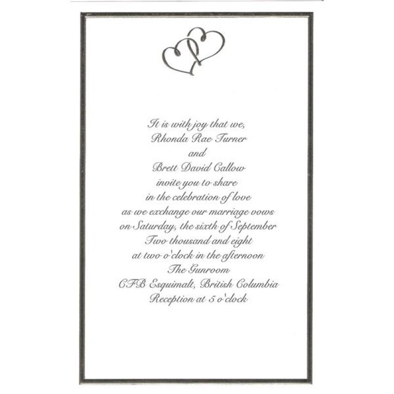 Wilton Wedding Invitation Templates