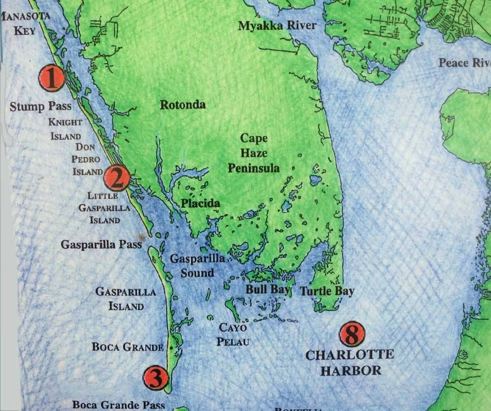 Discover other Florida barrier islands along Gulf Coast ...