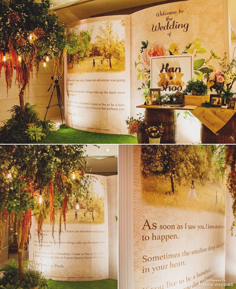 Winnie The Pooh Wedding Reading: We Are In Love With This Winnie The Pooh-inspired Woodland