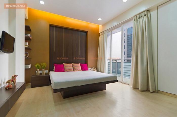 Modern Big Bedroom Modern Contemporary Elegant Bedroom Vadodara By Studioyamini Bedroom Interior Big Bedrooms Bedroom Design