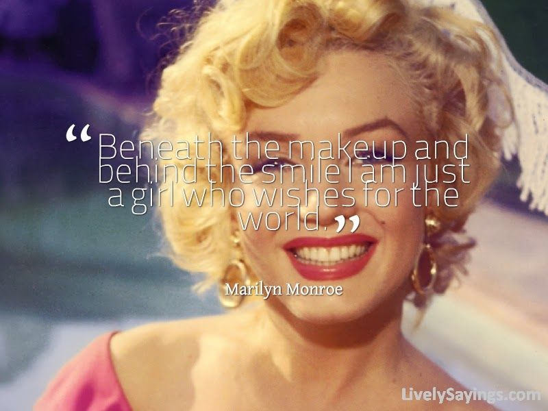 Short Quotes about #Makeup ~ Makeup #Quotes | Lively Sayings
