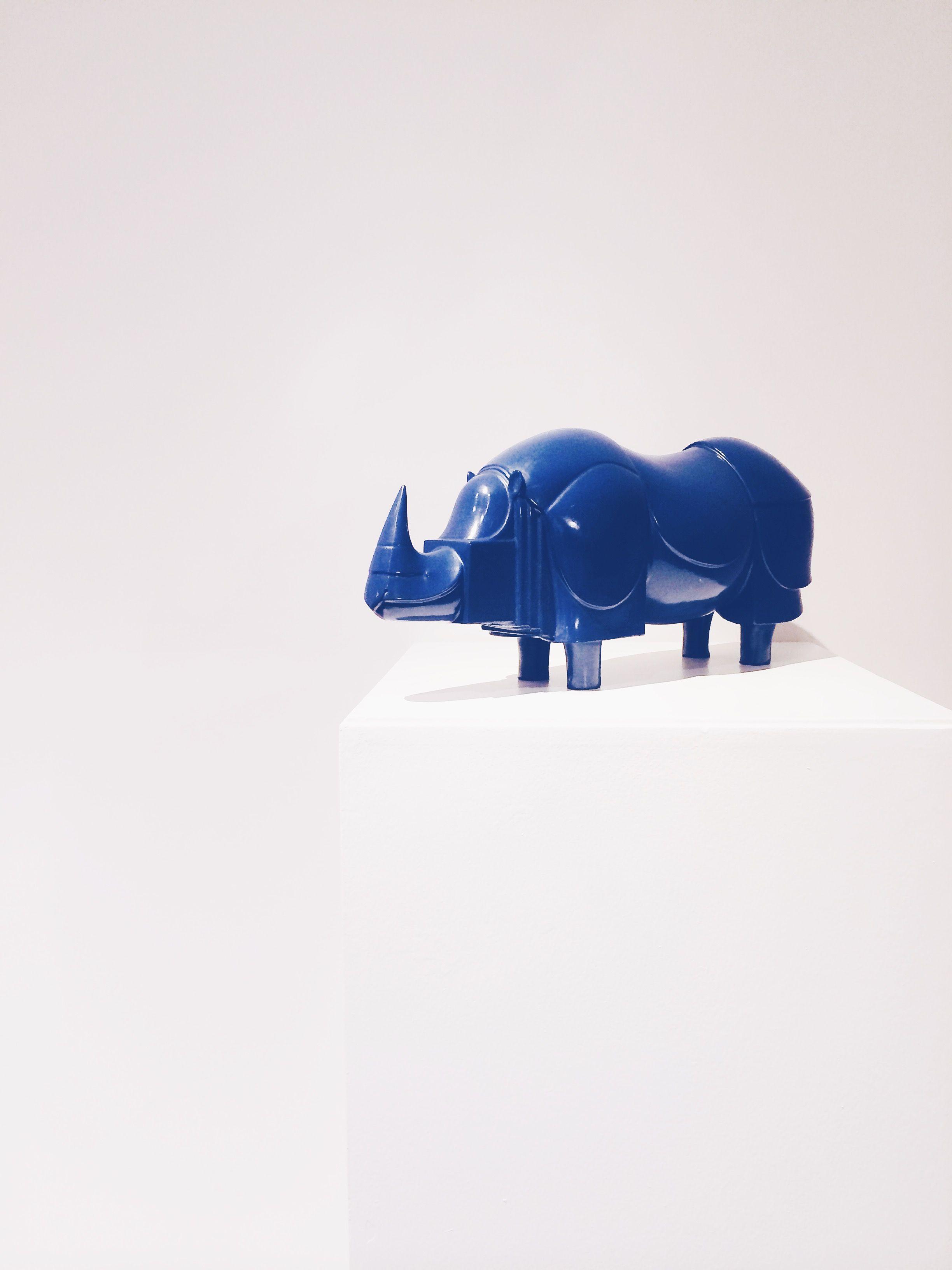 François-Xavier Lalanne Rhinoceros Bleu 1981 | rr