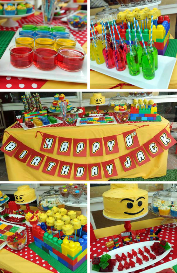 Lego Party - Lego Baby Shower Party Ideas | Baby Shower Lego Theme ...