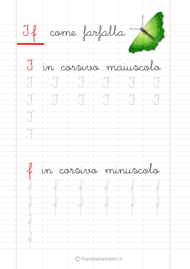 Schede Di Pregrafismo Delle Lettere Dell Alfabeto Da Stampare