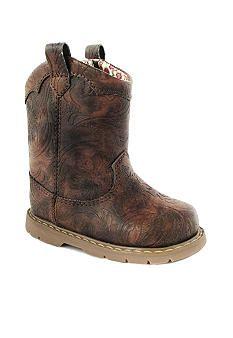 Natural Steps Gloss Boot  Girl InfantToddler Sizes 2  12
