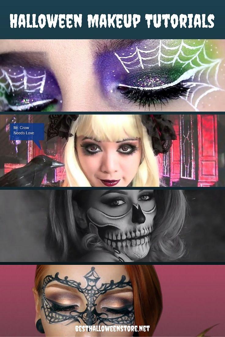 Halloween Makeup Tutorials and Makeup Kits Halloween