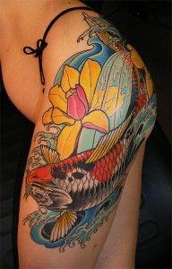 Tatuagens de carpas