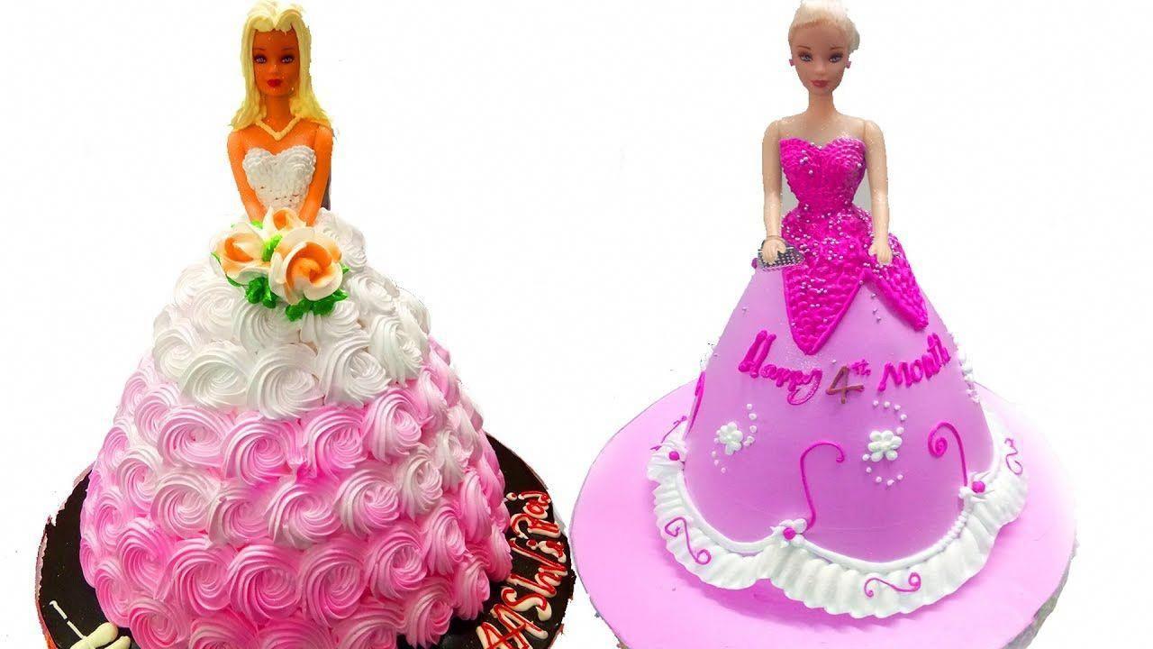 Barbie Doll Cake Design Birthday Chocolate Cake Decoration Video