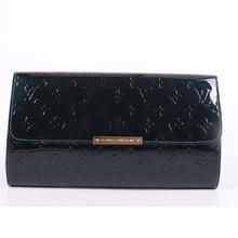 Louis Vuitton Monogram Vernis Calfskin Leather Robertson - Sapphire Blue M91548  $159.00