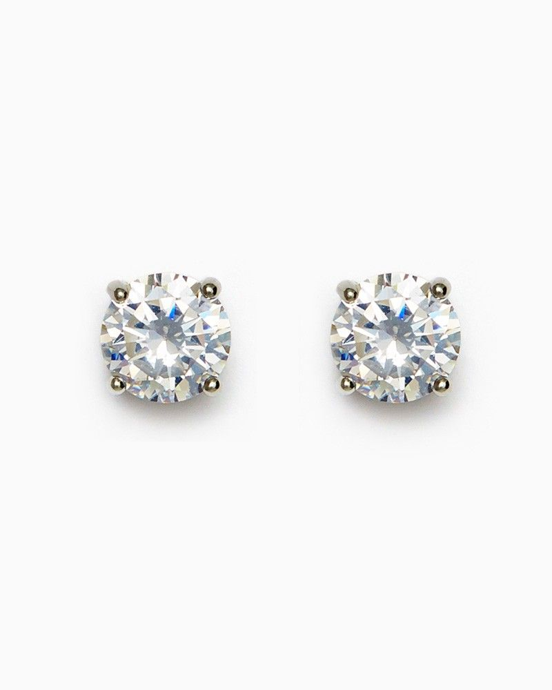 Charming Charlie Gallery 10mm Round Cz Studs Upc 410006873476 Charmingcharlie Stud Jewelry Sterling Silver Studs Jewelry