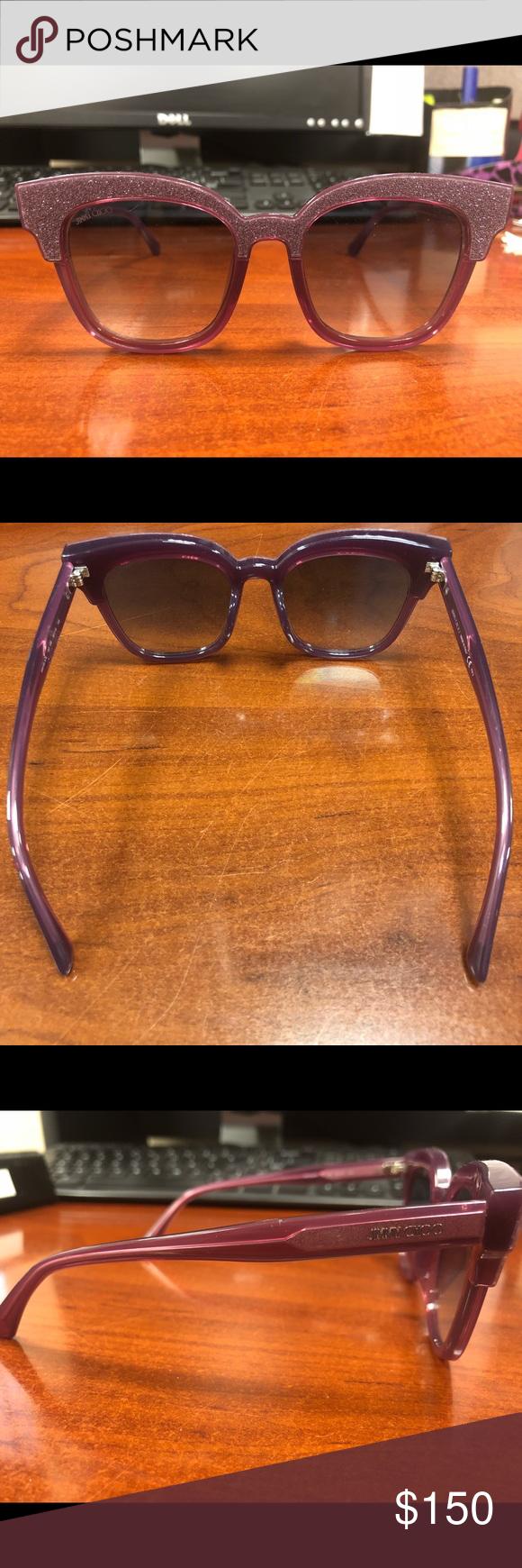 1ea414239b1 Jimmy Choo Sunglasses Jimmy Choo Mayela S Purple Sunglasses Brand New w o  box 100% Authentic Jimmy Choo Accessories Sunglasses