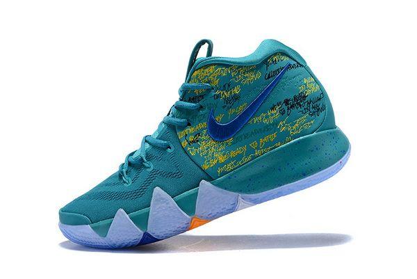 online retailer ef3ac 5a4f2 2018 Nike Kyrie 4 Christmas Pink Teal   Ten en 2019   Boys basketball shoes,  Nike kyrie et Kyrie basketball