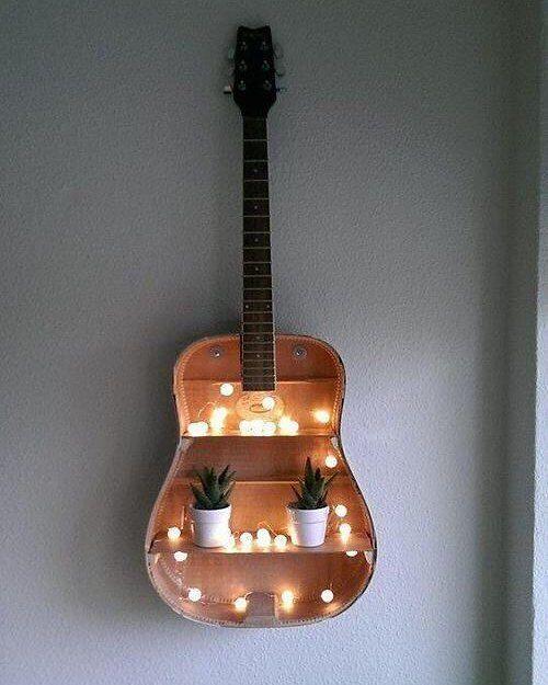 Mit Diesem DIY Trick Hat Man Glück Im Unglück Und Kann Aus Dem Kaputten  Instrument Ein Schönes Möbel Für Kita, Kiga Oder Auch Zuhause Machen