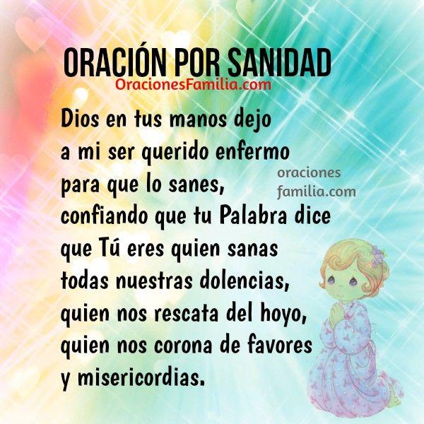 Oracion Sanidad Sanacion Cuerpo Hijo Hija Cosas Espirituales