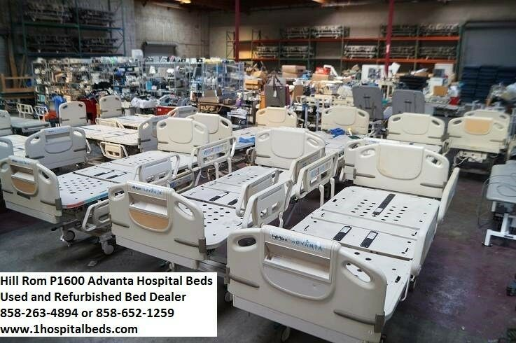 10 Hill Rom Advanta P1600 Hospital Beds Full Electric Adjustable Package Deal Hillrom Hospital Bed New Hospital Hospital