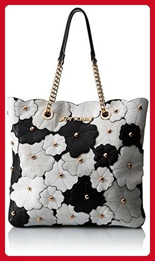 Photo of Betsey Johnson Chuckle Path, Black/Crm – Shoulder bags (*Amazon Partner-Link)