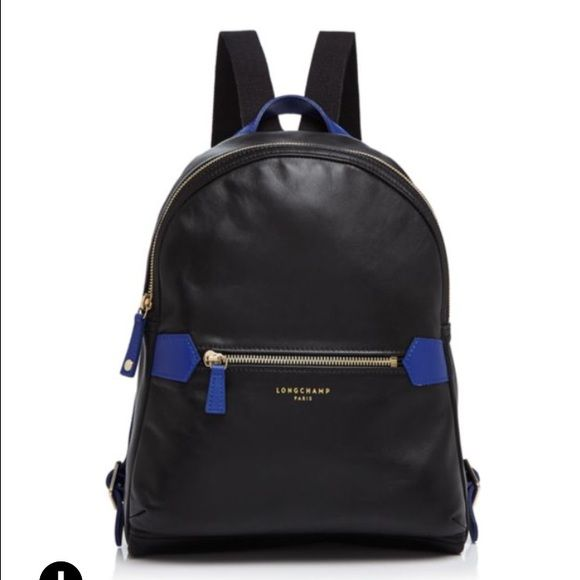 761dedd777a6 Brand new Longchamp 2.0 leather backpack Brand new black leather Longchamp  2.0 backpack. Dimensions are 9.75