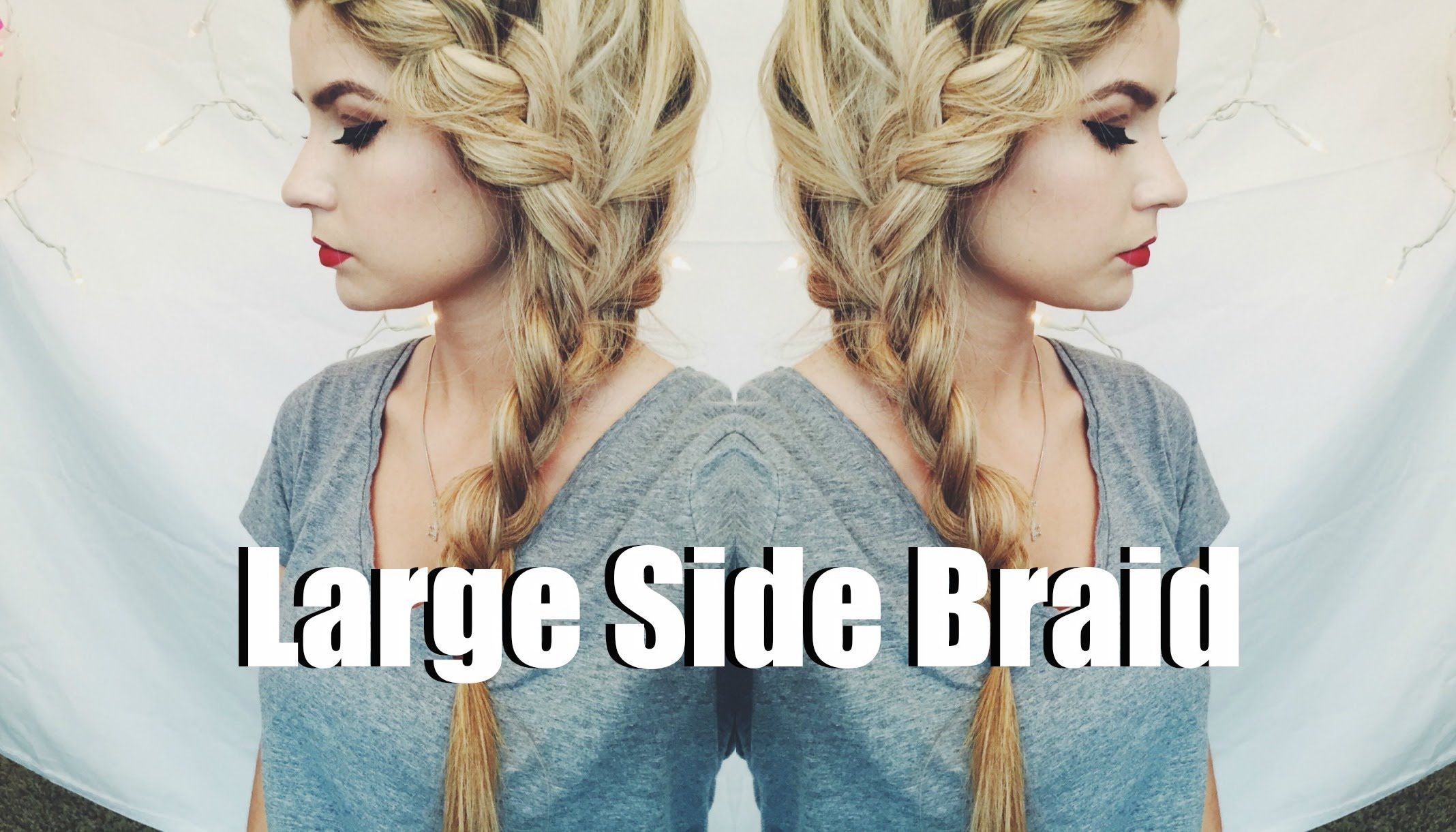 Large Side Braid ♡ Amber Fillerup Inspired | #dyt #dressingyourtruth #dyttype2 #type2
