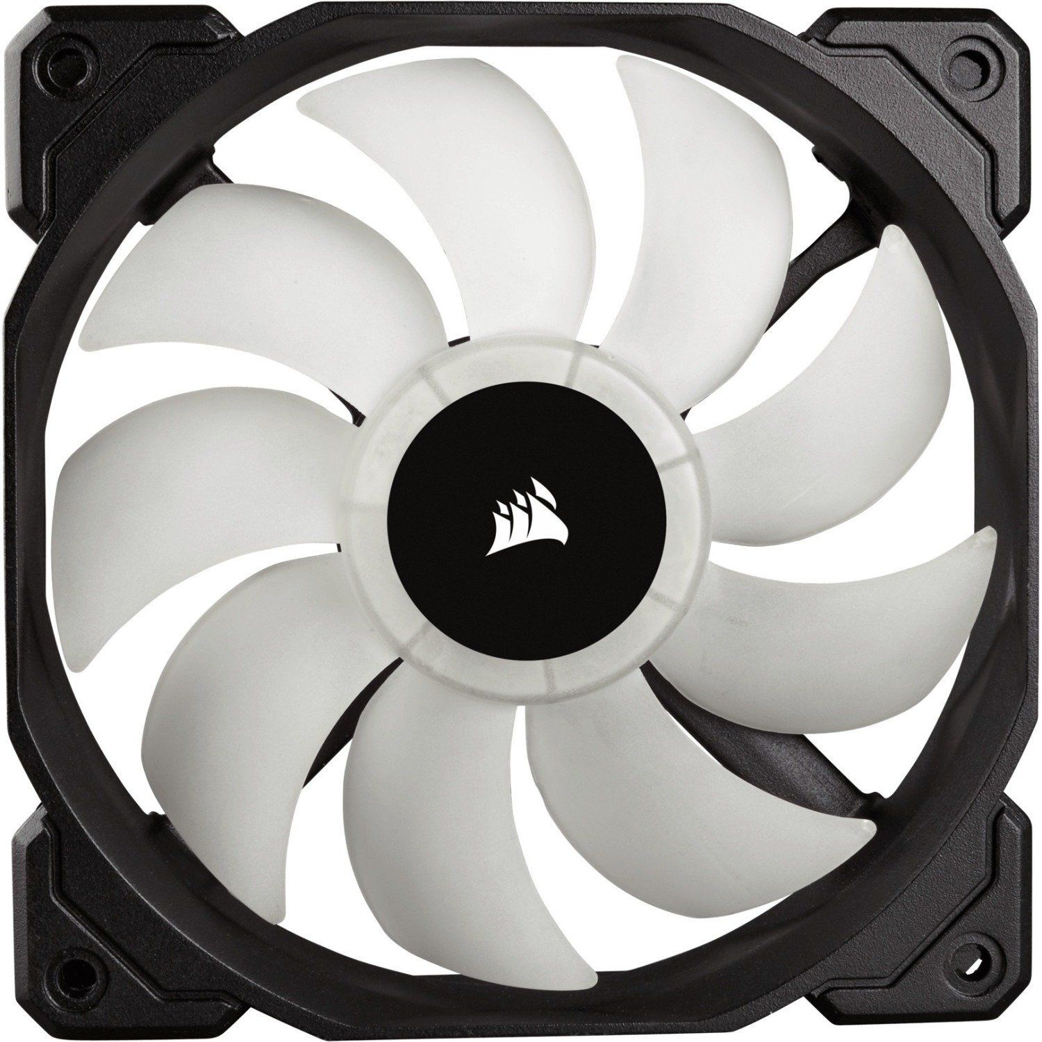 Corsair Sp120 Rgb Led High Performance 120mm Fan Three Pack With