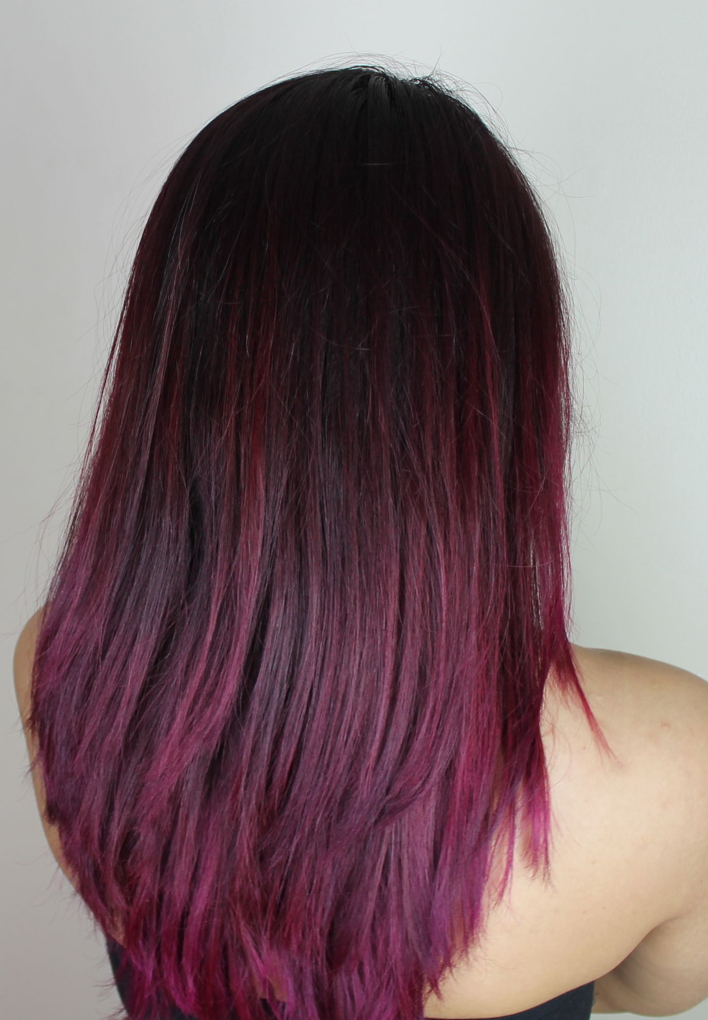 Another Pink Purple Red Ombre Kinda Hair With La