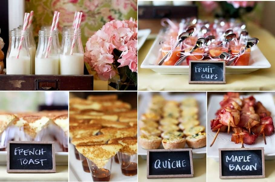 bridal shower brunch themes
