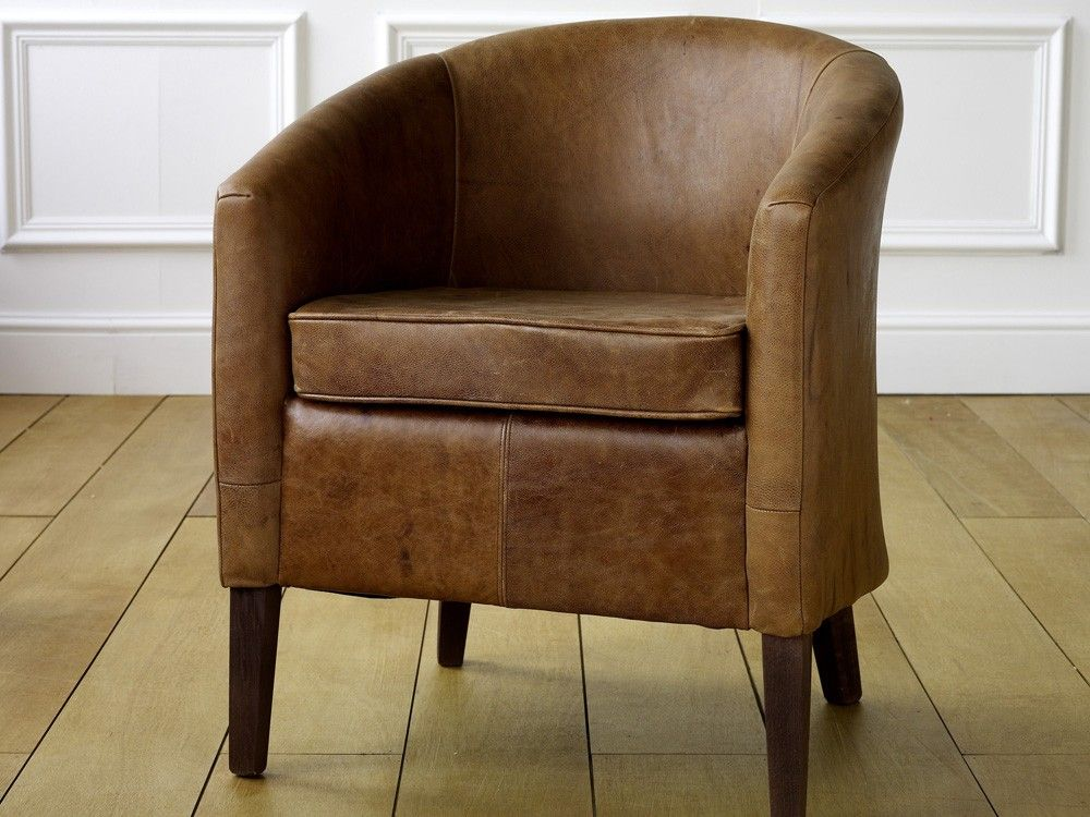EST Leather Tub Chair | Living Room | Pinterest | Tub chair, Tubs ...