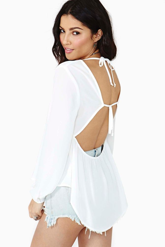 Reverie Tied Top