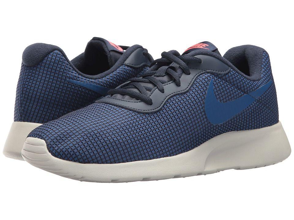 95acf31f6c49 Nike Tanjun SE (Obsidian Gym Blue Solar Red Light Bone) Men s ...