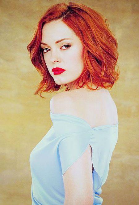 35 striking short red hairstyles   frisuren für rothaarige