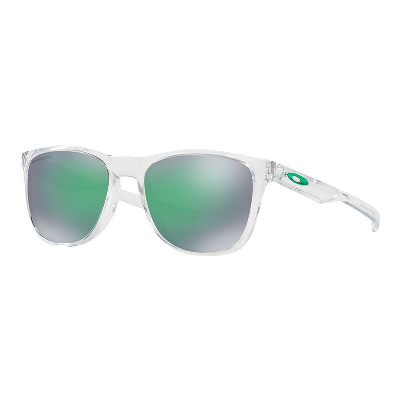 4c5e056030 Oakley Trillbe X Sunglasses - Polished Clear with Prizm Jade Iridium Lenses
