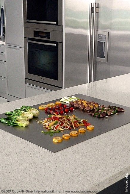 Kbtribechat A Hibachi Grill In The Countertop Sure Why Not