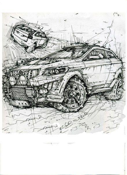 Volvo XC60 3dr #volvo #xc60 #crosscountry | Рисунки