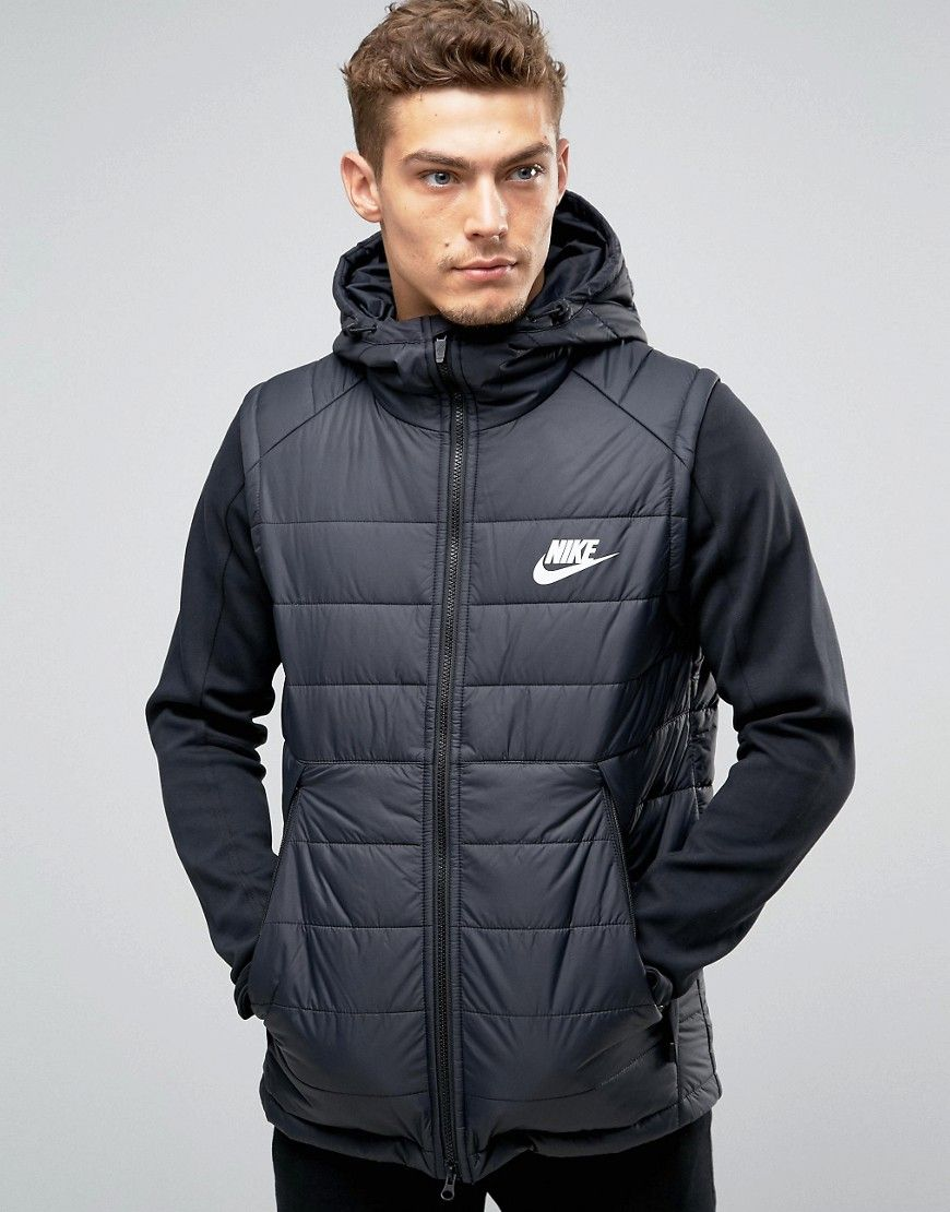 implícito cilindro Delgado  Get this Nike's quilted jacket now! Click for more details. Worldwide  shipping. Nike AV15 Hooded Jacket In Black 806856… | Chaqueta acolchada,  Chaquetas, Acolchados