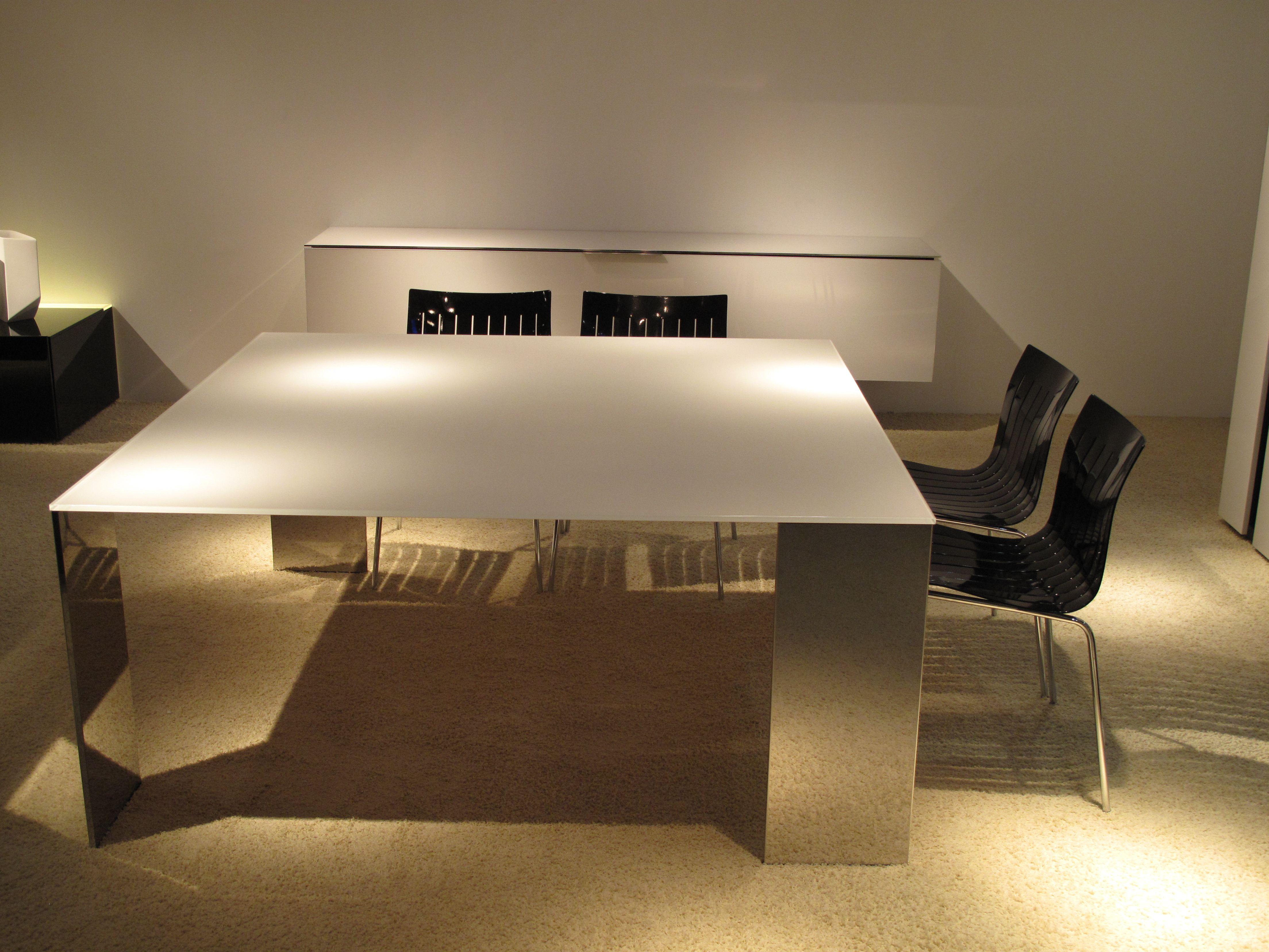 Tavolo Shining ~ Tavolo axis quadrato design gabriele e oscar buratti by acerbis