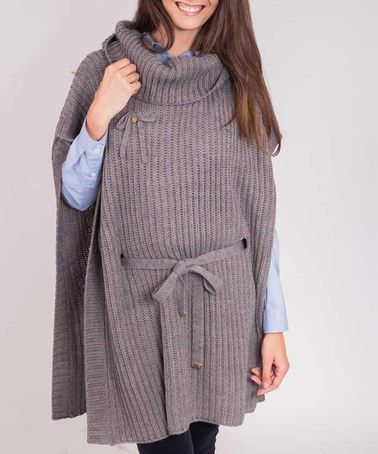 Take a look at this Riverside: Grey Cape by Riverside on #zulily today!